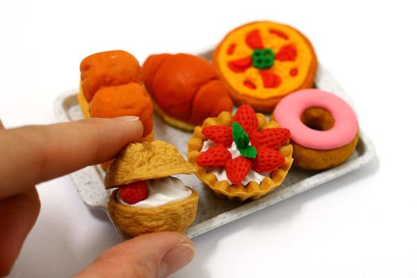 IWAKO eraser pastries