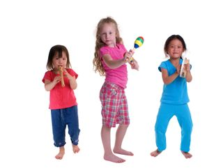 Kids with instruments