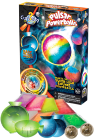 66406 - Pulsar Powerballs - Box and Contents - Left