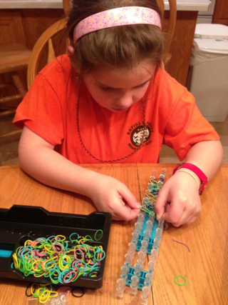 Rainbow Loom Progress